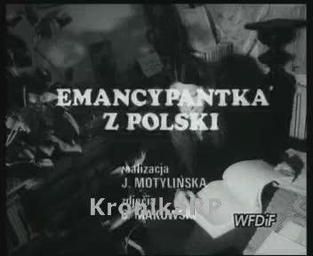 Emancypantka z Polski