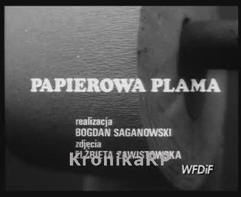 Papierowa plama