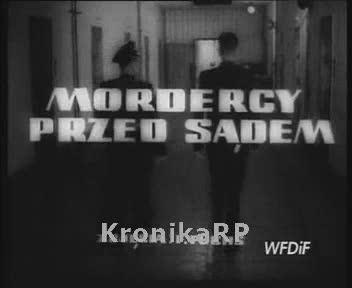 Mordercy przed sądem