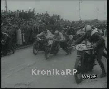 Zawody motocyklowe o tytuł mistrza Warszawy
