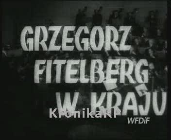 Grzegorz Fitelberg w kraju