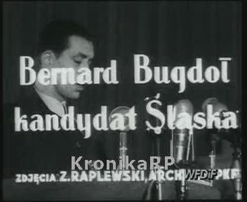 Bernard Bugdoł kandydat Śląska