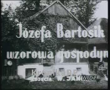 Józefa Bartosik wzorowa gospodyni