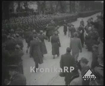 Powrót oddziałów wojskowych z Francji