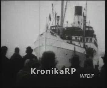 Powrót repatriantów z Anglii i Niemiec