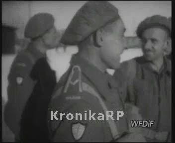 Powrót wojsk polskich z Włoch