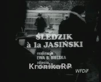 Śledzik a la Jasiński