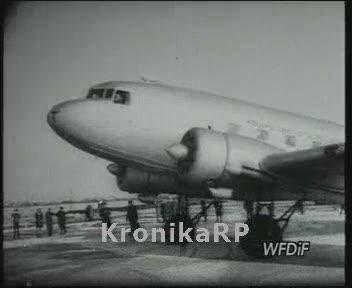 Otwarcie linii lotniczych LOT-u Warszawa-Gdańsk