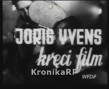 Joris Yvens kręci film