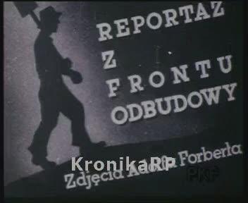 Zrujnowane podczas wojny zakłady przemysłowe oraz ruiny gospodarki PRL-u