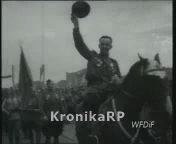 Pożegnanie wojsk radzieckich w Warszawie