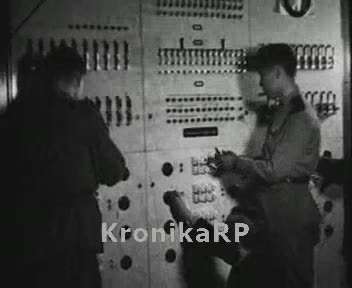 Uruchomienie pierwszej centrali telefonicznej