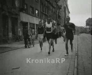 Bieg uliczny w Warszawie