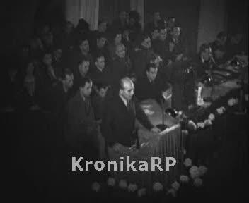 Zjazd Polskiej Partii Robotniczej w Warszawie