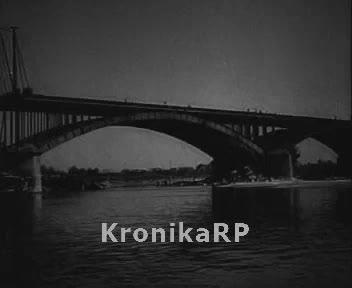 Prezydent i premier na budowie mostu Poniatowskiego