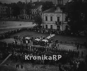 Pogrzeb żołnierzy KBW