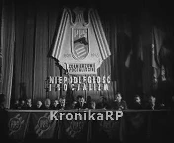 Zjazd członków PPS walczących z Niemcami
