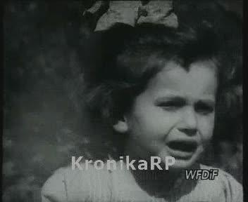 Sieroty po powstańcach warszawskich w domu dziecka w Miechowie na Śląsku