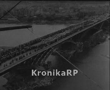 Otwarcie mostu Poniatowskiego