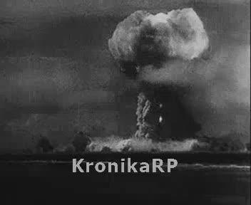 Doświadczenia z bombą atomową na Bikini