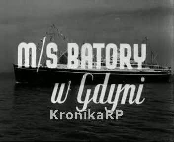 M/S Batory w Gdyni