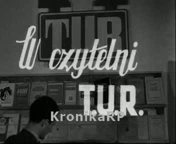 W czytelni T.U.R.