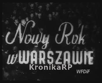 Nowy Rok w Warszawie
