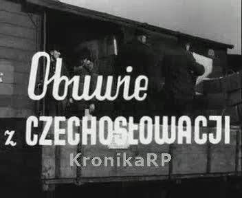 Obuwie z Czechosłowacji