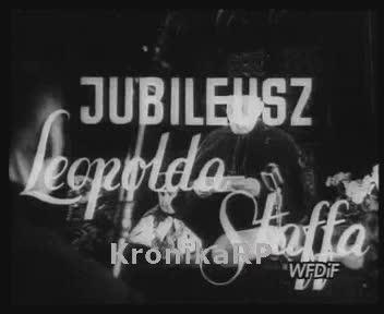 Jubileusz Leopolda Staffa