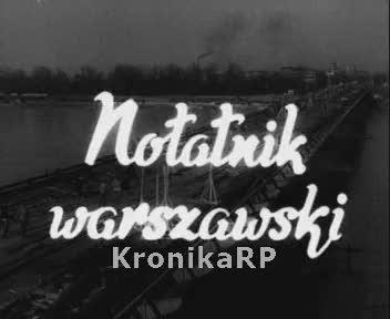 Notatnik warszawski