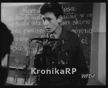 Czyn 1-Majowy dzieci ze szkoły TPD na Żoliborzu