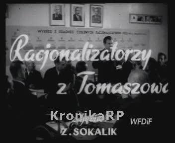 Racjonalizatorzy z Tomaszowa
