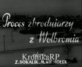 Proces zbrodniarzy z Wolbromia