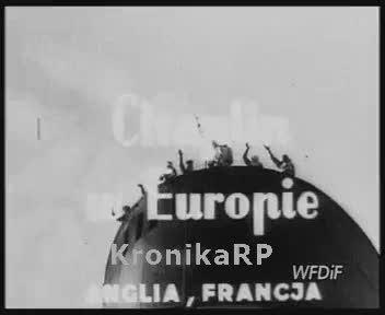 Chaplin w Europie