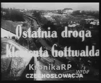 Ostatnia droga Klementa Gottwalda