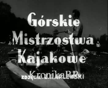 Górskie Mistrzostwa Kajakowe