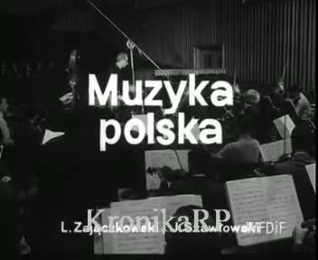 Muzyka polska.