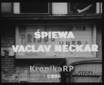 Śpiewa Vaclav Neckar