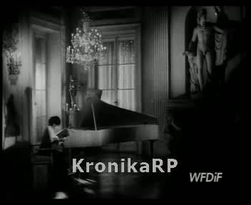 Gra klawesynistka Elżbieta Chojnacka