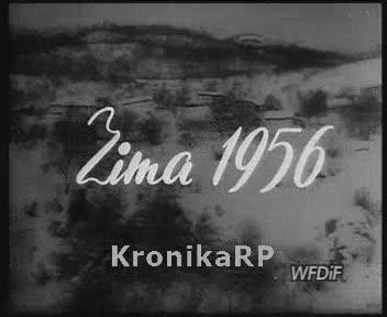 Ze świata. Zima 1956