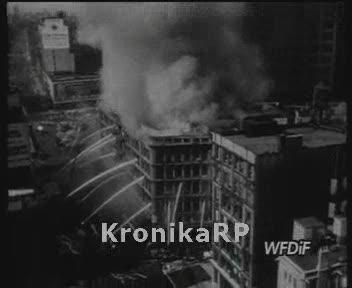 Pożar domu towarowego