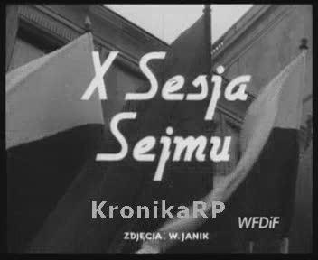 X Sesja Sejmu