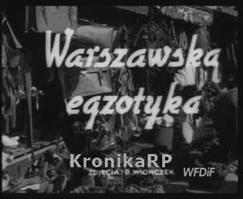 Warszawska egzotyka