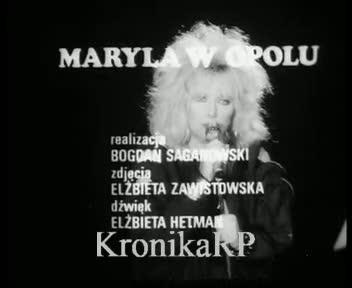 Maryla w Opolu