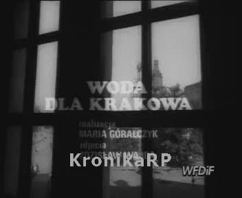 Woda dla Krakowa