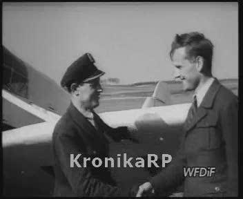 Pierwszy powojenny samolot produkcji polskiej LWD Szpak