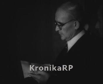 Bolesław Bierut przyjmuje Alfreda Danielsena