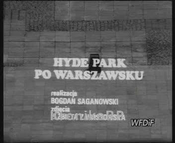 Hyde Park po warszawsku