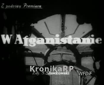 Z podróży Premiera. W Afganistanie
