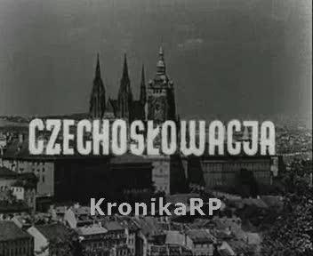 Z całego świata. Czechosłowacja